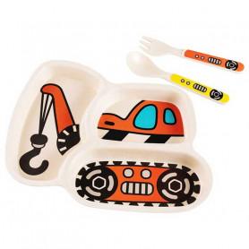 Kit Assiette à compartiment originale pour enfant
